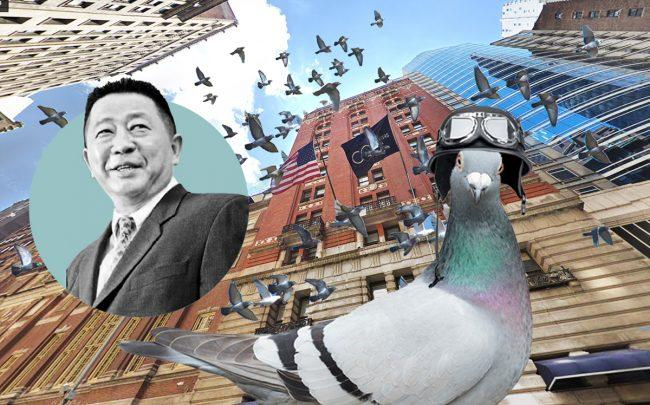 Sam Chang and 40 West 45th Street (Credit: Google Maps and iStock)