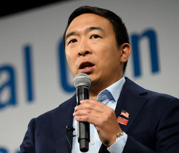 Andrew Yang (Credit: Getty Images)