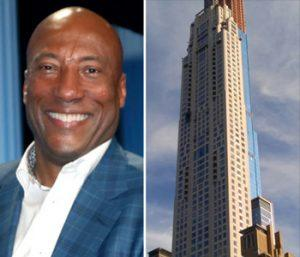 Byron Allen and 220 Central Park South (Credit: Getty Images and Wikipedia)