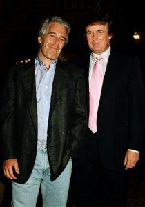 Jeffrey Epstein and Donald Trump in 1997 (Credit: Getty Images)