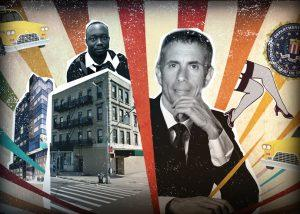 Israeli financier Jonathan Leitersdorf had big plans for a prime High Line site -- but taxi drivers, tenant-harassing strip club owners, and a retired FBI agent have turned the project into an absolute circus.