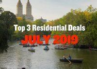 Top Residential Deals July 2019