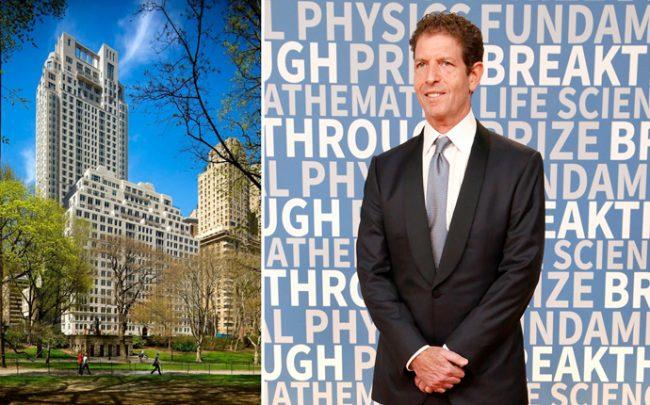 15 Central Park West and Och-Ziff Capital Management founder Daniel Och (Credit: StreetEasy and Getty Images)