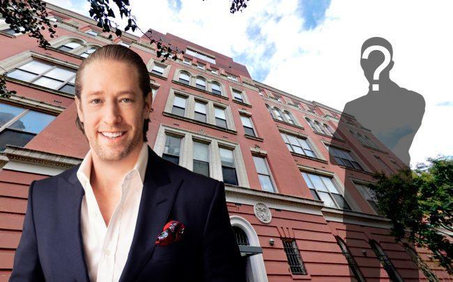 Slate Property Group's David Schwartz and 45 Rivington Street (Credit: Google Maps)