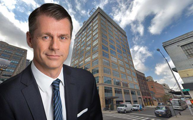Brookfield Property Group CEO Brian Kingston and 652 11th Avenue (Credit: Google Maps)