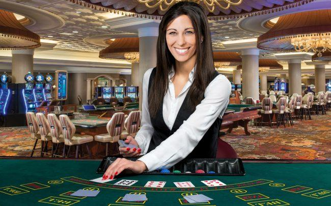 Boylan Code partner and attorney Jaime Cain and Turning Stone Casino in Utica, New York (Credit: iStock)