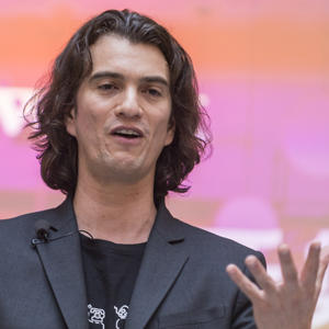 The We Company CEO Adam Neumann (Credit: Getty Images)