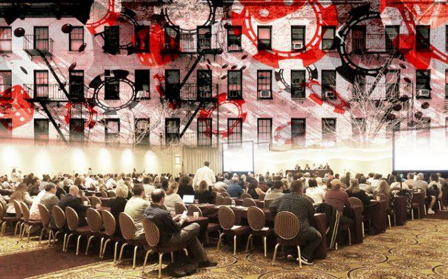 The massive meeting held in a suburban casino outside of Utica came at a time when the real estate industry is asking itself some tough questions. (Credit: iStock)