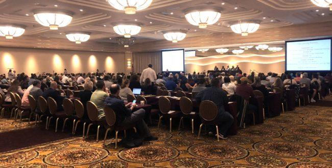 Hundreds of landlords discussed the rent law at a casino in Utica