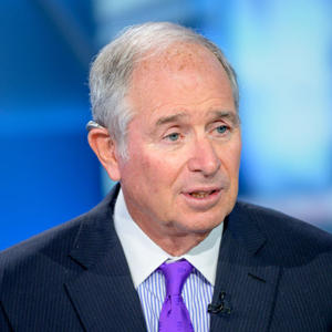 Blackstone's Stephen Schwarzman (Credit: Getty Images)