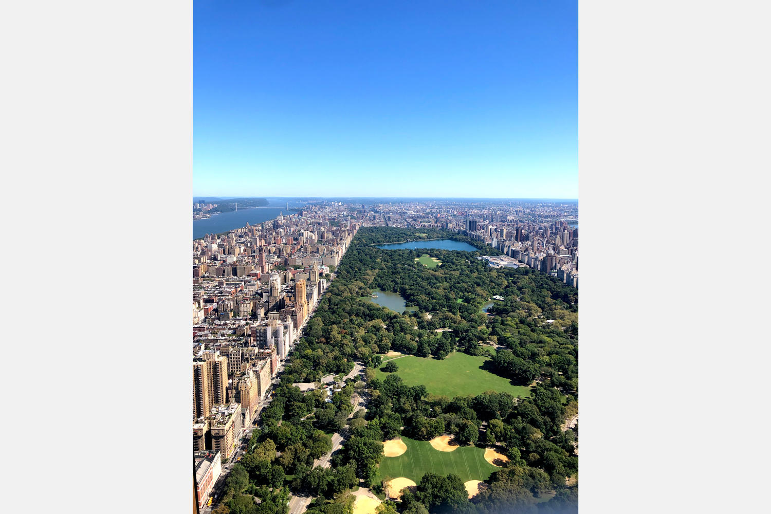 A view from 220 Central Park South (Photo by Anuja Shakya)