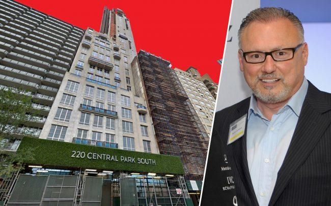 220 Central Park South and Michael Cantanucci (Credit: Getty Images and Google Maps)