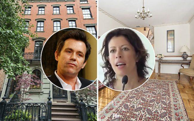 Nicolai Ouroussoff and Cecily Brown with 125 East 10th Street (Credit: Columbia GSAPP via Flickr, Wikipedia, and StreetEasy)