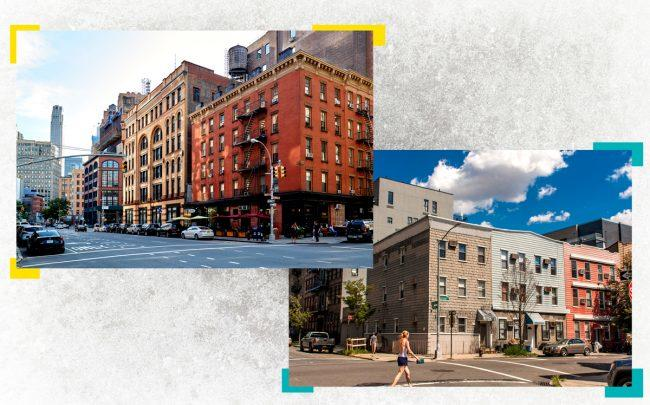 A new StreetEasy report found significant year-over-year declines in sales prices in some neighborhoods like Tribeca and Greenpoint (Credit: iStock)