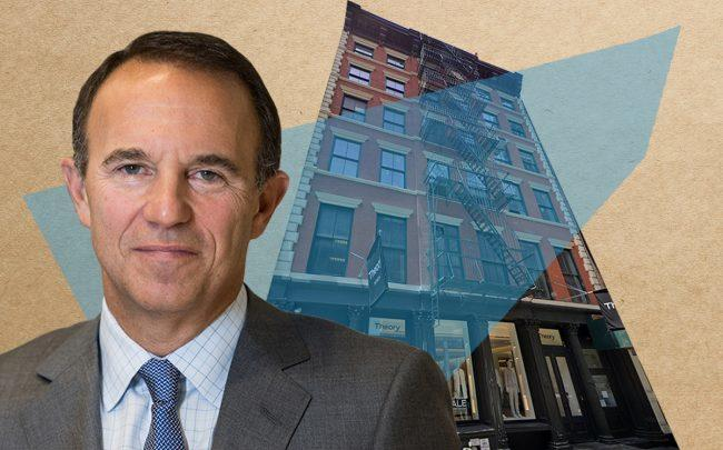 47 Greene Street and President & CEO of Acadia Realty Trust Kenneth F. Bernstein (Credit: Google Maps)