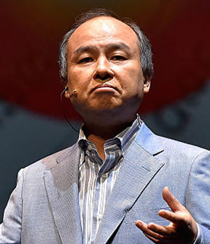 Masayoshi Son (Credit: Getty Images)