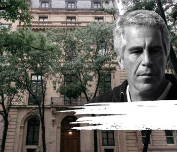 91 East 71 Street and Jeffrey Epstein (Credit: Wikipedia)