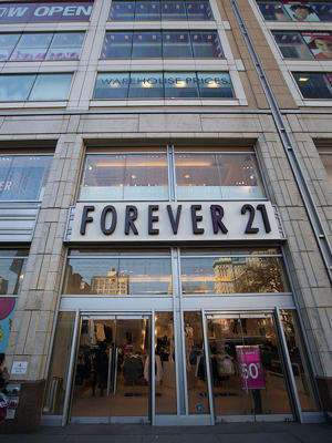 Forever 21 at 4 Union Square South (Credit: Getty Images)