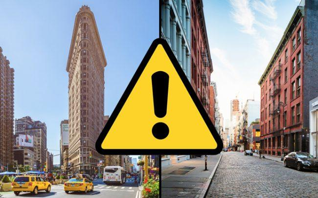 WeWork leases in Soho and Flatiron could be in trouble, according to a report (Credit: iStock)