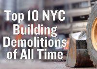 Top 10 NYC Building Demolitions video