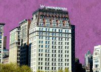 Union Square W Hotel at 201 Park Avenue South (Credit: Wikpedia)