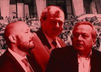 Jay Martin, James Whelan and Joe Strasburg