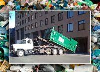 An example of roll-off waste management (Credit: YouTube, iStock)