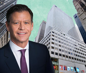 Brookfield's Ric Clark and 666 Fifth Avenue (Credit: Brookfield and Google Maps)