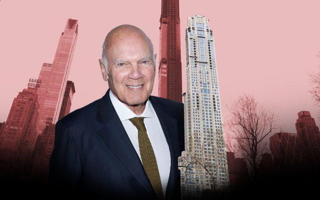 Vornado's Steve Roth and 220 Central Park South (Credit: Getty Images)