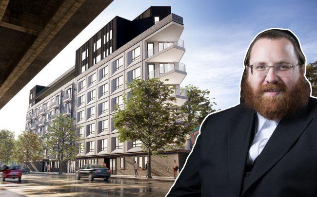 A rendering of 280 Meeker Avenue CW Realty Management CEO Cheskie Weisz (CW Realty Management)