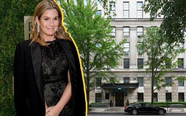 Aerin Lauder and 960 Fifth Avenue (Credit: Getty Images, Warburg Realty)