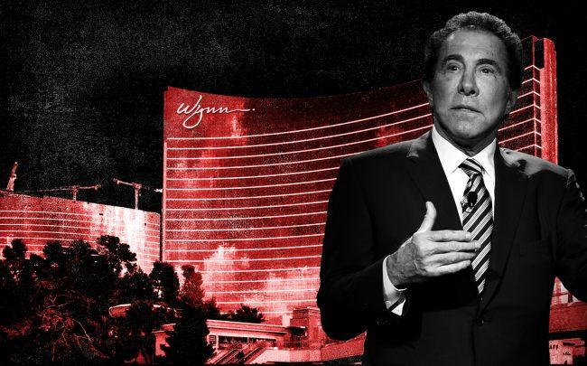 Steve Wynn and the Wynn Las Vegas Resort (Credit: Getty Images)