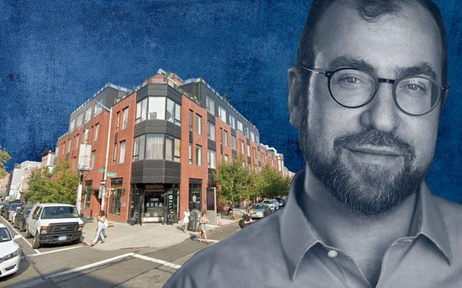 227 Grand Street in Williamsburg and Michael Lichtenstein of Heritage Equity Partners (Credit: Google Maps, Heritage Equity Partners)