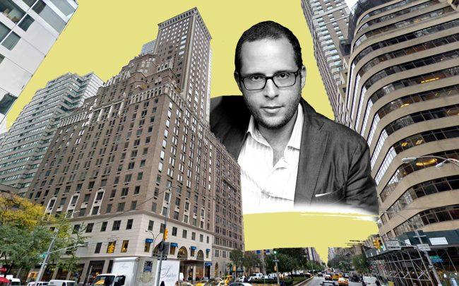 Rotem Rosen and 502 Park Avenue (Credit: Google Maps and Getty Images)