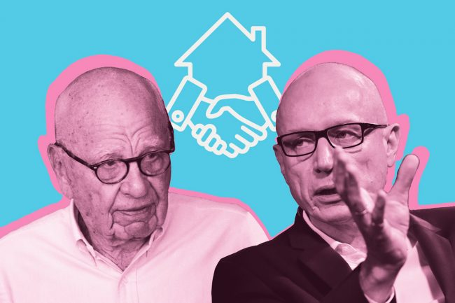 News Corporation founder Rupert Murdoch and CEO Robert Thomson (Credit: Getty Images, iStock)