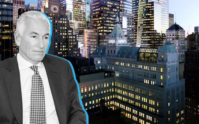 Charles Kushner and 229 West 43rd Street (Credit: Getty Images)