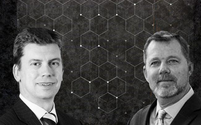 Moody's Analytics' Keith Berry and Empirical CRE Doug Curry (Credit: LinkedIn, iStock)
