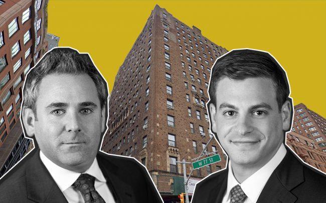 Seth Schochet, Drew Goldsmith and 201 West 77th Street (Credit: Google Maps)