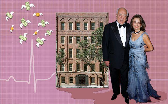 40 East 72nd Street and Spiros and Antonia Milonas (Credit: Getty Images, iStock)