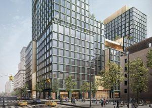 A rendering of 4 Hudson Square (Credit: Skidmore Owings & Merrill)