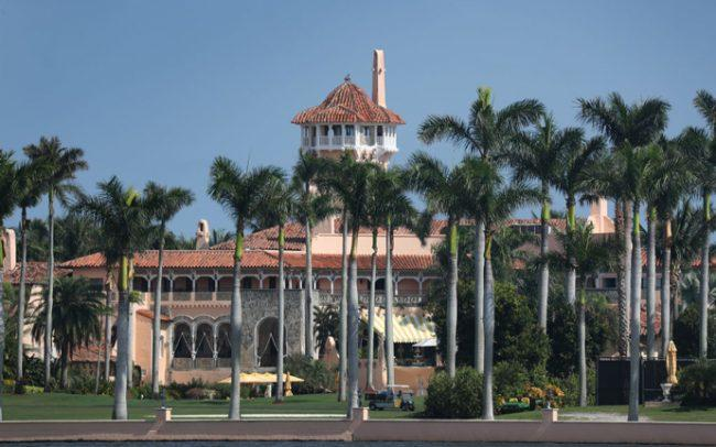 Mar-a-Lago Resort at 1100 S. Ocean Blvd (Credit: Getty Images)