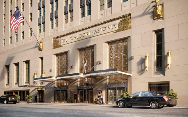 Renderings of Waldorf Astoria