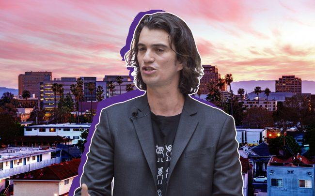 Adam Neumann and San Jose (Credit: iStock, Getty Images)