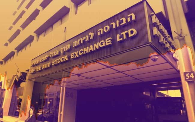 The Tel Aviv Stock Exchange (Credit: Getty Images)