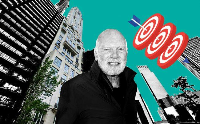 220 Central Park South and Vornado chairman Steven Roth (Credit: Google Maps, Getty Images, iStock)