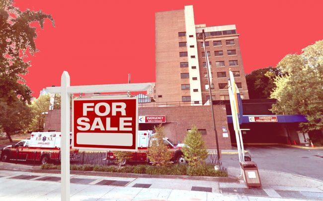 Brooklyn Hospital Center at 121 DeKalb Avenue in Brooklyn (Credit: Google Maps)