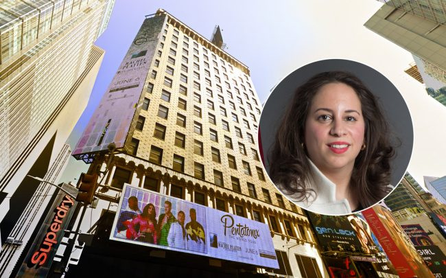 729 Seventh Ave and DOB Commissioner Melanie La Rocca (Credit: Google Maps)