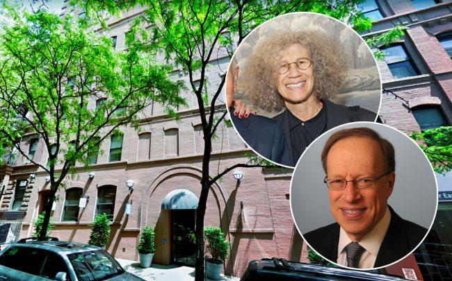 207 East 94th Street, Glenwood Management's Carole Pittelman and Hirschfeld Properties' Elie Hirschfeld (Credit: Google Maps)