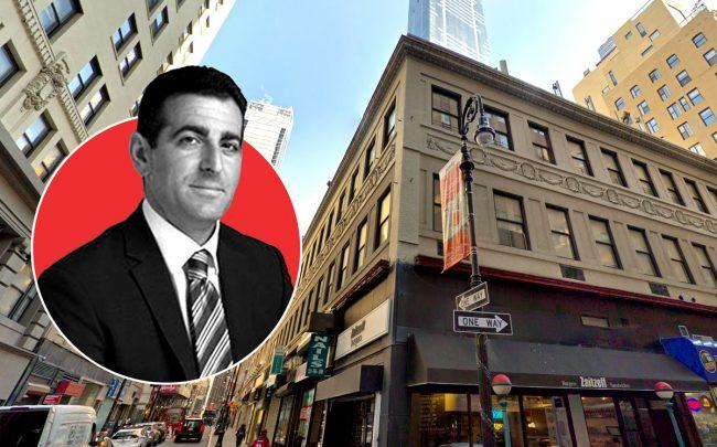 Hidrock CEO Abraham Hidary and 72 Nassau Street (Credit: Hidrock and Google Maps)