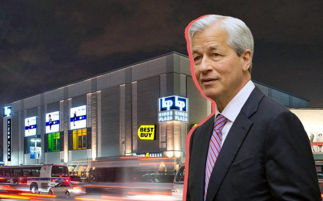 Kings Plaza Shopping Center and JPMorgan's Jamie Dimon